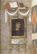 Bernardino Pinturicchio Self-Portrait oil